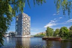 Puerto interno Karlstad imagenes de archivo