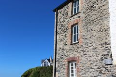 Puerto Isaac Cornwall England fotografía de archivo