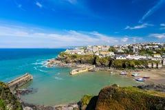 Puerto Isaac Cornwall England imagen de archivo libre de regalías