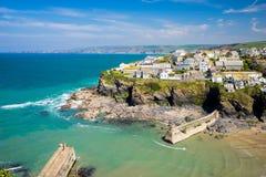 Puerto Isaac Cornwall England imágenes de archivo libres de regalías