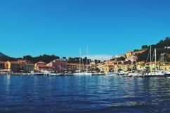 Puerto italiano foto de archivo libre de regalías