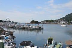 Puerto Japón 2016 de Tomonoura Fotos de archivo libres de regalías