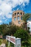 Puerto Jose Banus marina i Marbella, Spanien royaltyfri foto