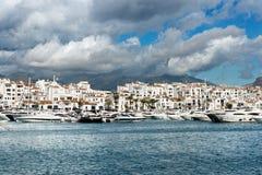 Puerto Jose Banus marina in Marbella, Spain Stock Image