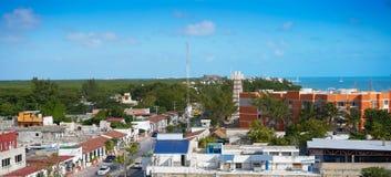 Puerto Juarez in Cancun at Riviera Maya. Of Mexico Stock Image