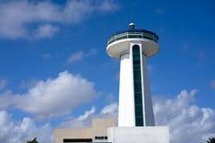 Puerto Juarez in Cancun at Riviera Maya. Of Mexico port control tower Royalty Free Stock Image