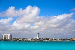 Puerto Juarez in Cancun at Riviera Maya. Puerto Juarez port in Cancun at Riviera Maya of Mexico Stock Images