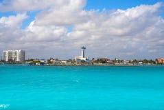 Puerto Juarez in Cancun at Riviera Maya. Puerto Juarez port in Cancun at Riviera Maya of Mexico Royalty Free Stock Image