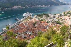 Puerto Kotor Imagen de archivo libre de regalías