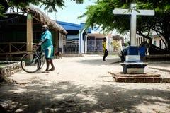 Puerto Limon en Isla Fuerte Fotos de archivo