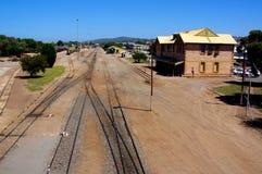 Puerto Lincoln Grain Rail Fotos de archivo