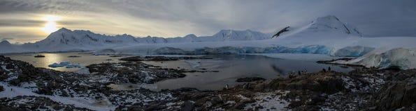 Puerto Lockroy, la Antártida Imagen de archivo libre de regalías