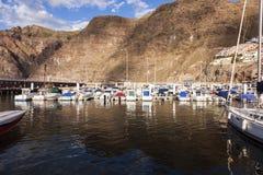 Puerto Los Gigantes in Acantilados de Los Gigantes Stockfotografie