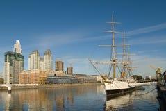 Puerto Madero à Buenos Aires Photos stock
