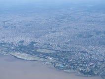Puerto Madero στο σούρουπο Στοκ Φωτογραφίες
