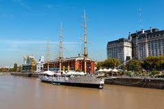 Puerto Madero, Буэнос-Айрес Argentinien Стоковая Фотография RF