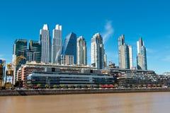 Puerto Madero, Буэнос-Айрес Argentinien Стоковые Изображения RF