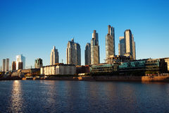 Puerto Madero Royalty Free Stock Photography