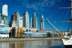 Buenos Aires Cityscape, Argentina Stock Photo