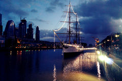 Puerto Madero Imagem de Stock Royalty Free