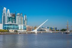 Puerto Madero district in Buenos Aires, Argentina. stock images