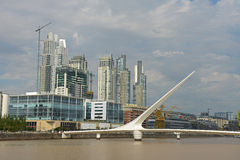 Puerto Madero Stock Photo