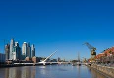 Puerto Madero, Buenos Aires imagens de stock royalty free