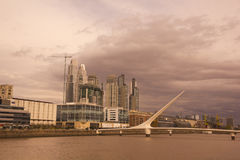 Puerto Madero, Buenos Aires, Royalty Free Stock Photo
