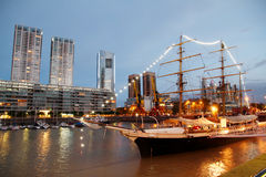 Puerto Madero in Buenos Aires Royalty Free Stock Photo