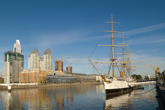 Puerto Madero in Buenos Aires Stock Photos