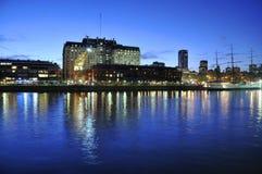 Puerto Madero, Buenos Aires Imágenes de archivo libres de regalías