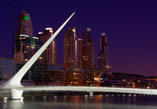 Puerto Madero, Buenos Aires, Argentina. Stock Photography