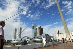 Puerto Madero, Buenos Aires, Argentina. Stock Image