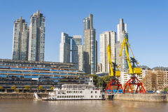 Puerto Madero, Buenos Aires Royalty Free Stock Images