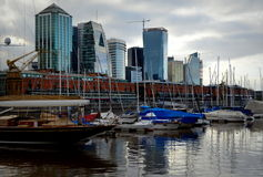 Puerto Madero, Buenos Aires, Argentina Stock Photography