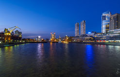 Puerto Madero in Buenos Aires, Argentina Royalty Free Stock Photos