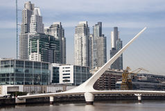 Puerto Madero, Buenos Aires, Argentina - Stock Image Royalty Free Stock Photography