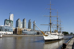 Puerto Madero, Buenos aires, Argentinië Royalty-vrije Stock Foto's