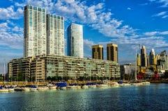 Puerto Madero, Buenos Aires, Argentinien Lizenzfreies Stockfoto