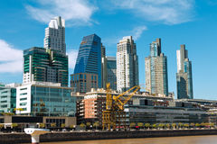 Puerto Madero, Buenos Aires Argentinien Stock Image