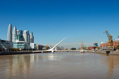 Puerto Madero, Buenos Aires Argentinien Royalty Free Stock Image