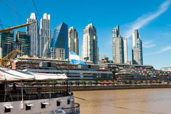 Puerto Madero, Buenos Aires Argentinien Stock Images