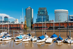 Puerto Madero, Buenos Aires Argentinien Royalty Free Stock Photography