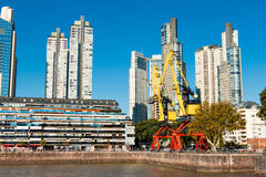 Puerto Madero, Buenos Aires Argentinien Royalty Free Stock Photo