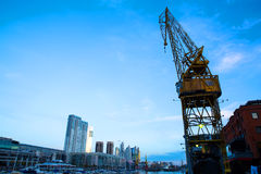 Puerto Madero in Buenos Aires Royalty Free Stock Photography