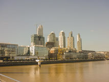 Puerto Madero Buenos Aires Royalty Free Stock Photos