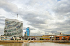 Puerto Madero Buildings Royalty Free Stock Photos