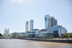 Puerto Madero. Cityscape in Buenos Aires , Argentina Royalty Free Stock Photos
