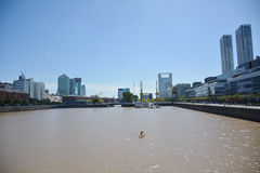 Puerto Madero. Cityscape in Buenos Aires , Argentina Stock Image