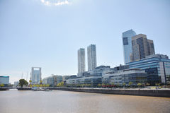 Puerto Madero. Cityscape in Buenos Aires , Argentina Stock Images